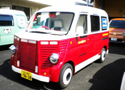 5.フレンチバス仕様 外装フルカスタム・ベース車ホンダアクティ等 240万円~(税別)